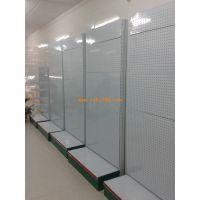 供应各种类商超货架,展架,仓储货架 广州浏雅货架单面孔板超市货架