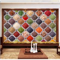 米诺大型壁画厂家直销无纺布墙布 特色火锅店烧烤饭店墙纸