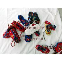定制半岁至3岁幼儿手工千层底布鞋