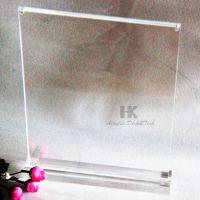 有机玻璃相框亚克力台签企标透明强磁磁台力强亚克力强磁台签