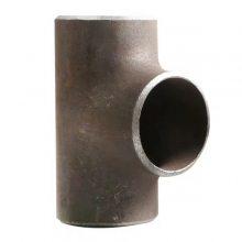 优质DN50碳钢Y型三通 焊接式等径三通 国标90°斜三通河北厂家