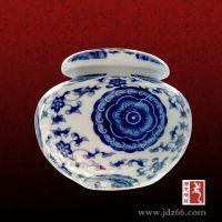 陶瓷茶叶罐千火陶瓷青花瓷定制茶叶密封防潮包装罐