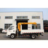 小型起重机装卸设备3吨随车吊车价格加图片山东济宁三石机械