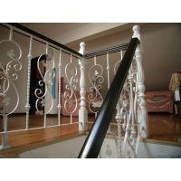 艾仑欧式楼梯保护人身安全的不锈钢护栏
