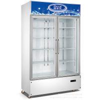 新品店铺冷藏展示柜 水果保鲜柜 立式展示冰柜 冷藏型制冷设备