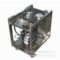 气液增压系统专家 大流量气液增压泵