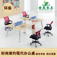 【厂家直销】简约实用企业办公桌 带柜子组合多功能办公桌电脑桌