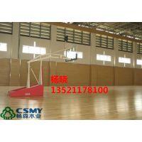 河北省张家口市体育馆篮球木地板 畅森木业厂直销枫木、柞木运动地板