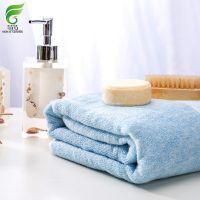 菲苒木纤维浴巾厂家直销,柔软加厚非染色浴巾,印字加工;70*140cm,450克
