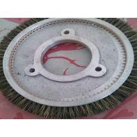 厂家批发日星定型机毛刷轮 韩国机毛刷盘猪鬃尼龙钢丝定型圆盘刷