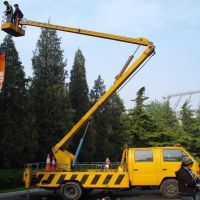 供应广东18米车载折臂式升降机