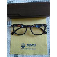 寰视眼镜HS-P-G-3002进口板材高度超薄眼镜