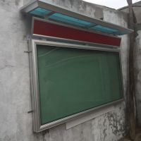 挂墙宣传栏,铝合金壁挂报栏,西安飓风专业制作,2017壁挂宣传栏