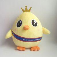 2017鸡年新款毛绒玩具鸡公仔十二生肖吉祥物公仔玩偶 来图打样生产订制 毛绒玩具