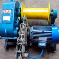 供应电控卷扬机 电机为铜芯 JK-0.5T--5T 建筑工地必备 厂家直销