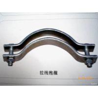 河北紧固件厂家现货供应优质190 热镀锌抱箍  电线杆抱箍