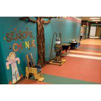 北京亲子房塑胶垫儿童乐园塑胶垫儿童房弹性地胶垫