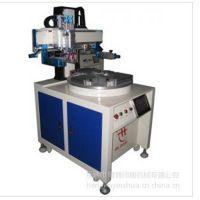 生产销售350R大型圆面丝印机,升降式,自动曲面丝印机
