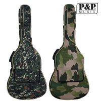 民谣吉他背包 高档迷彩吉他背包 41寸吉他包加厚木吉他背包乐器包