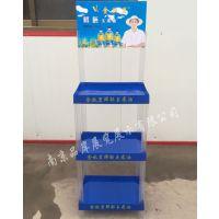 【龙头厂家】植物油商超展示架花生油落地陈列架菜籽油塑料组合摆放架