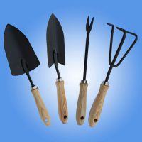 厂家直销 宇鑫牌花园工具 原木色四件套装 廊坊舒适塑钢