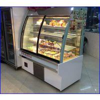 豪华风冷西点柜黄山 佳伯寿司冷藏展示柜定做 弧形前开门蛋糕柜品牌