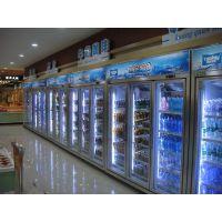 加工定制 直销便利店两门超市饮料展示柜 立式冷藏柜 超市设备