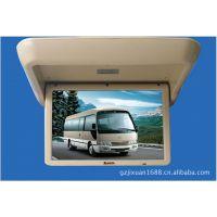车用显示屏19寸电动折叠 车载电视机车载视频播放器吸顶车载电视