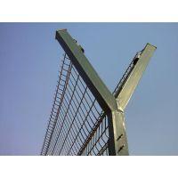 鸿德定制刺铁丝围栏网@加强型安全防护网@介休带铁蒺藜防护网