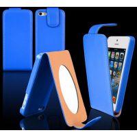 苹果iphone6 带镜子上下翻皮套批发 保护套 苹果5代手机壳