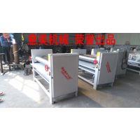 实力厂家出售意美牌1400型双面涂胶机木工板专用设备上胶均匀大小可调