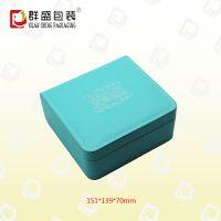 深圳厂家定制皮革礼品盒 精质皮革盒 LOH-666