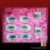 景德镇随手礼品餐具直销厂家 保鲜碗三件套 餐具套装 唐龙陶瓷
