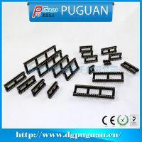 专业生产 双杠IC插座 双排IC插座 东莞IC插座 可按要求加工定制