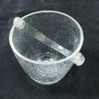 新货上架 花样定做耐摔防水香槟冰桶 热销亚克力透明冰桶