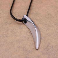 男人血性 防过敏处理 持久保色 狼牙项链吊坠 送给男友的礼物