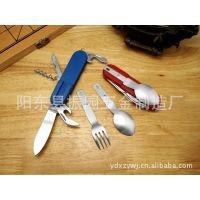 多功能餐具,折叠餐具,野营餐具,多功能工具,创意礼品