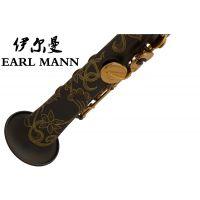 伊尔曼 Earl Mann 高级专业高音降B亚光黑镍金键萨克斯