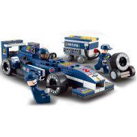 小鲁班0351方程式F1赛车 儿童拼装拼插积木 益智启蒙积木玩具批发
