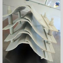净化塔及配套设备湿法喷淋 除雾器170-30增强聚丙 华强加工定制