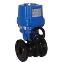 Electric Actuated Flanged Floating Ball Valve