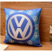 新款 高档棉麻印花抱枕 西安沙发靠垫制作 西安汽车抱枕靠枕