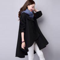 孕妇装秋冬新款韩版时尚宽松呢子孕妇大衣