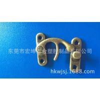 生产42MM铁质牛角锁 箱包牛角锁 木箱牛角锁 箱包锁