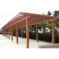 青岛花架长廊青岛葡萄架花架青岛水泥仿木制品青岛园林雕塑青岛园林景观
