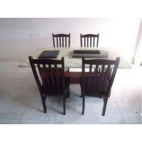 电磁炉火锅桌 实木烧烤桌椅 无烟烧烤桌椅 烧烤火锅一体桌