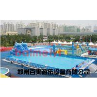 贵州下面县城投资移动水乐园,大型支架水池收益相当可观