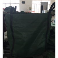 红枫包装夏季特惠绿色两吊四吊兜底方形吨袋 质量可靠承重一吨的