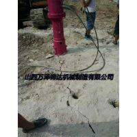 工程建设碰到岩石怎么办破石机张家港经销