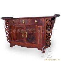 红酸枝微型家具  红酸枝供桌  小家具 玉石摆件底座